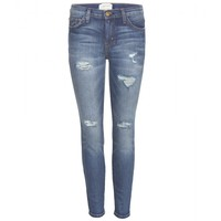 current/elliott - the stiletto cropped skinny jeans