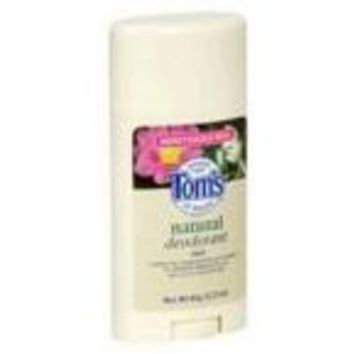 Tom's Of Maine Honeysuckle Natural Deodorant Stick (6x2.25 Oz)