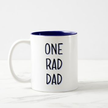 One Rad Dad Mug - Father's Day