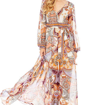 Persian Sunset Maxi Dress