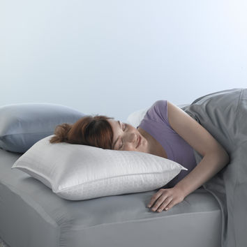 Spring Air Won't Go Flat Pillow Super Standard-Size Synthetic Pillows