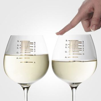 Musical Wine Glasses at Firebox.com