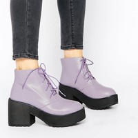 The WhitePepper Chunky Lace Up Ankle Boots