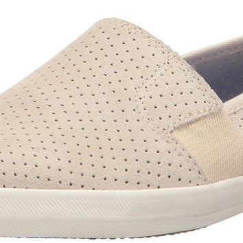 Keds Women's Chillax A-Line Perf Suede Fashion Sneaker Cream 8 B(M) US '