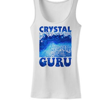 Crystal Guru Womens Petite Tank Top
