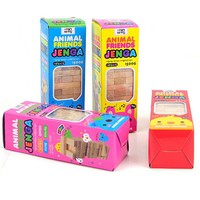 """Small Size """"JENGA """" Board Game Environmental Protection Wood Funny Games For Party Family With Free Shipping"""