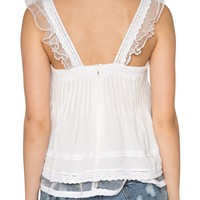 Organza Lust Lace Top