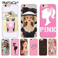 MaiYaCa for barbie Bitch doll face 1959 Luxury Fashion Phone Case for iPhone 8 7 6 6S Plus X 10 5 5S SE XR XS XS MAX Coque Shell