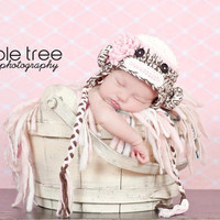 Crochet Pattern for Sock Monkey Hat - Chunky Monkey - Baby to Adult sizes - Welcome to sell finished items