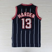 James Harden 13 Houston Rockets Hardwood Classic NBA Basketball Jersey James Harden