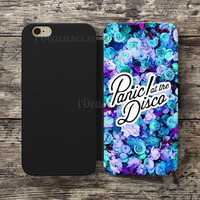 Panic! at the Disco lirycs Wallet Case For iPhone 6S Plus 5S SE 5C 4S case, Samsung Galaxy S3 S4 S5 S6 Edge S7 Edge Note 3 4 5 Cases