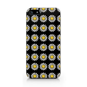 Daisy flower phone case, Floral pattern ,iPhone 5 5S case, iPhone 4 4S case, Free shipping M-557