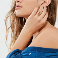 Luv Aj Starburst Serpent Ring | Urban Outfitters