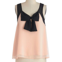 ModCloth Darling Mid-length Sleeveless Gift of Style Top