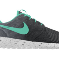 Nike Roshe Run KJCRD iD Custom Women's Shoes - Black