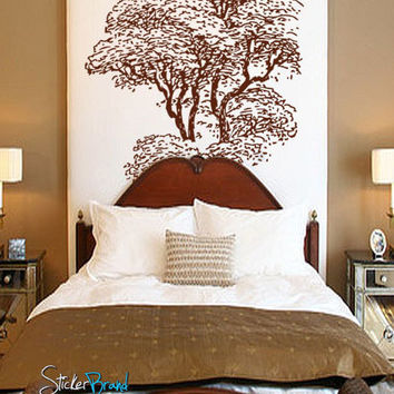 Vinyl Wall Decal Sticker Tall Tree #241