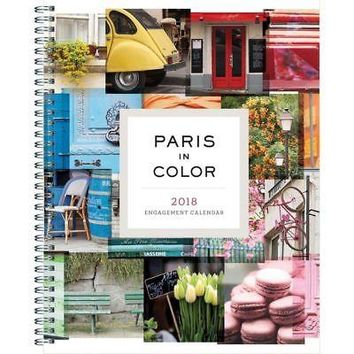 Paris in Color Engagement Calendar, France by Chronicle Books