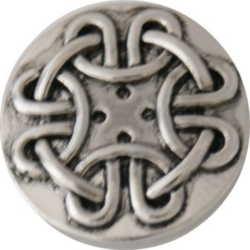 Snap Charm Endless Knot 20 mm