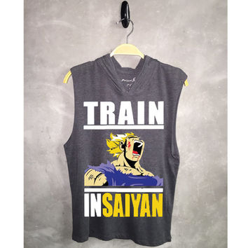 Hoodie Tank-Top Train InSaiyan