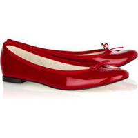 Repetto | BB patent-leather ballerina flats | NET-A-PORTER.COM
