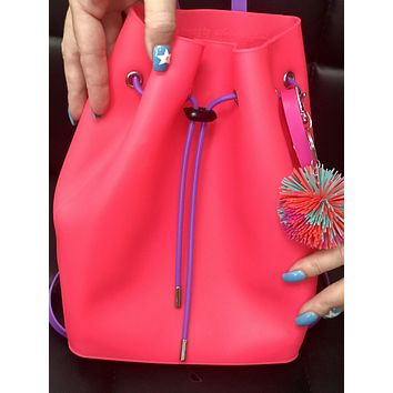 2019 American Jewel medium gummy  Cotton Candy scented Backpack with key chain and bracelet