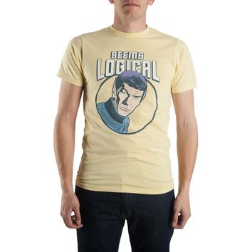 Bioworld Star Trek Seems Logical Spock Tee