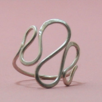 Sterling Silver  Ring Ring size can be adjusted on request