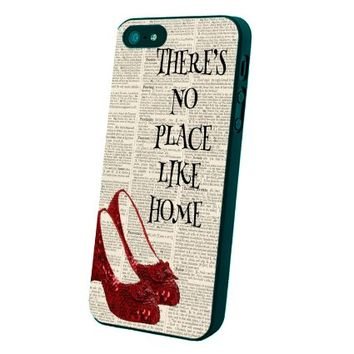 There Is No Place Like Home Custom Case for Iphone 5/5s/6/6 Plus (Black iPhone 5/5s)