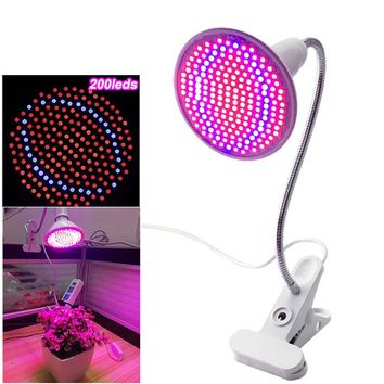 200 Led plant grow light with desk Clip
