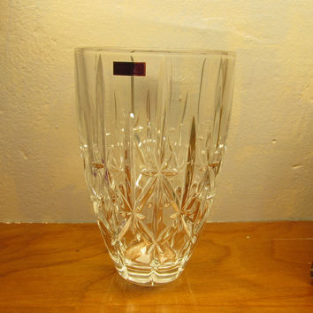 NEW IN BOX MARQUIS CRYSTAL VASE LARGE MADE IN GERMANY