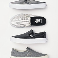 'Classic' Perforated Slip-On Sneaker (Women)