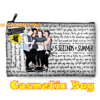 5 Seconds of Summer  - Cosmetic Bag Twin Sides