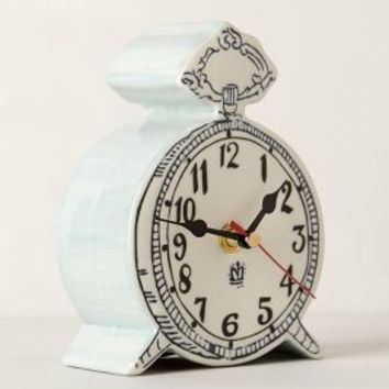Tick-Tock Clock by Molly Hatch