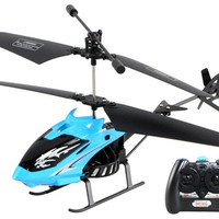 RIBEISI 2-Channel Anti-fall Remote Control RC Helicopter (Blue)