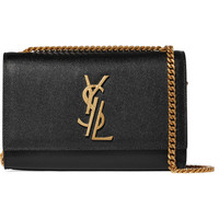 Saint Laurent - Monogramme Kate small textured-leather shoulder bag