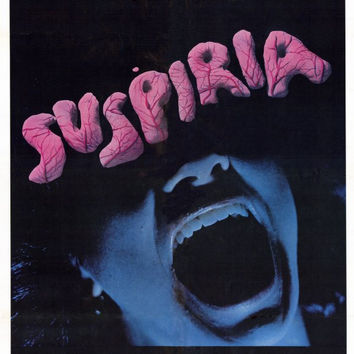 Suspiria 11x17 Movie Poster (1977)