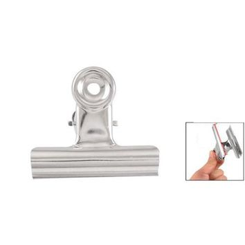 """Affordable 5 x Files Paper Organize Spring Loaded Binder Clips Clamps 3"""" Width"""