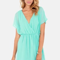 Mighty Aphrodite Sky Blue Dress