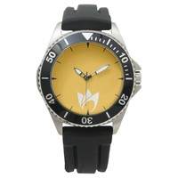 Flaming Fire (orange flames) Wrist Watch
