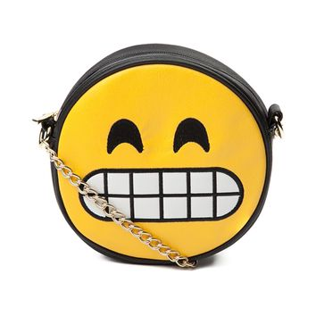 Womens Grinning Face Handbag