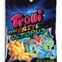 Trolli Brite Octopus, 4.25-Ounce (Pack of 12)