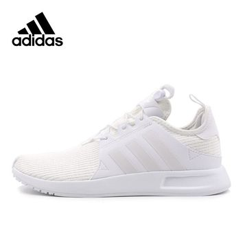 White Adidas Sneakers Originals Men Leisure Breathable Trainers Light Lace-up Low Cotton Fabric Adidas Sports Shoes for Men