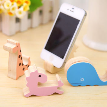 Cute Decoration Animal Creative Phone Cartoons Multifunction Lovely Rack = 4877829828