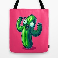 Cac-Tough Tote Bag by Artistic Dyslexia | Society6