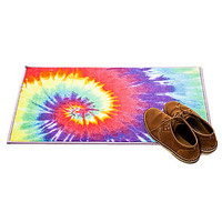The Rainbow Swirl Tie Dye Rug
