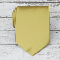Antique Gold Necktie
