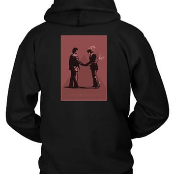 Pink Floyd Wish You Were Here Vektorize Version Hoodie Two Sided