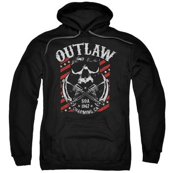 Sons Of Anarchy - Outlaw Adult Pull Over Hoodie