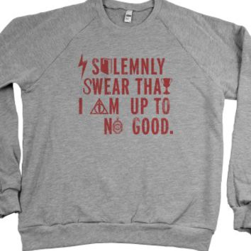 I Solemnly Swear That I Am Up To No Good (Sweater) |