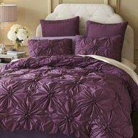 Savannah Bedding & Duvet - Plum$18.68 - $97.48